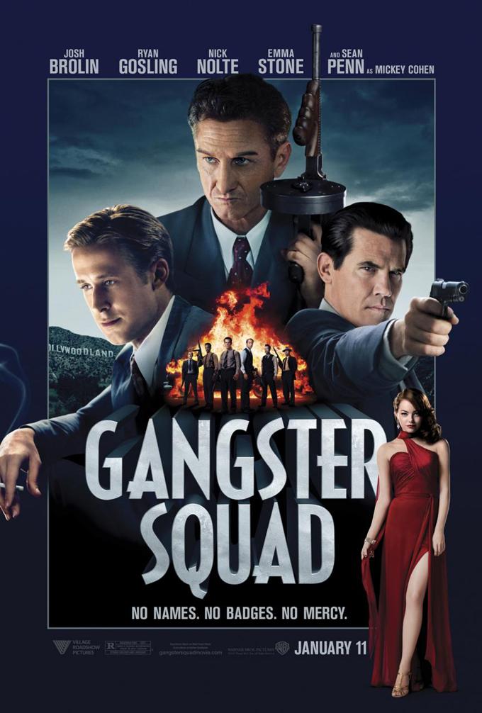 ตัวอย่างหนังใหม่ : Gangster Squad (หน่วยกุดหัวแก๊งสเตอร์) ซับไทย poster