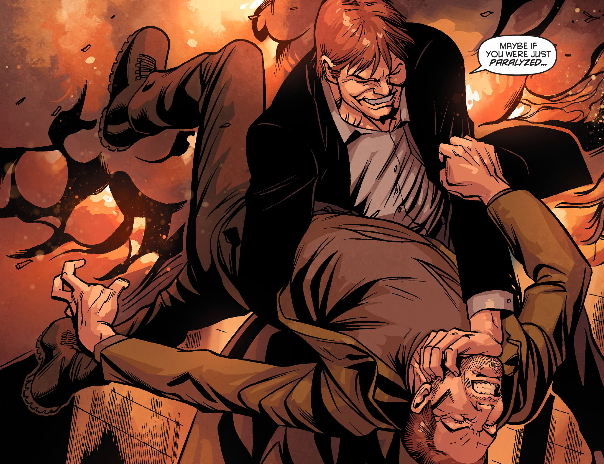 Read online Arrow: Season 2.5 [I] comic -  Issue #22 - 6