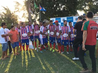 Santa Luzia é campeã da Segunda Divisão de Futebol em Registro-SP