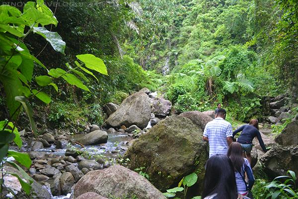 Casaroro's verdant trail