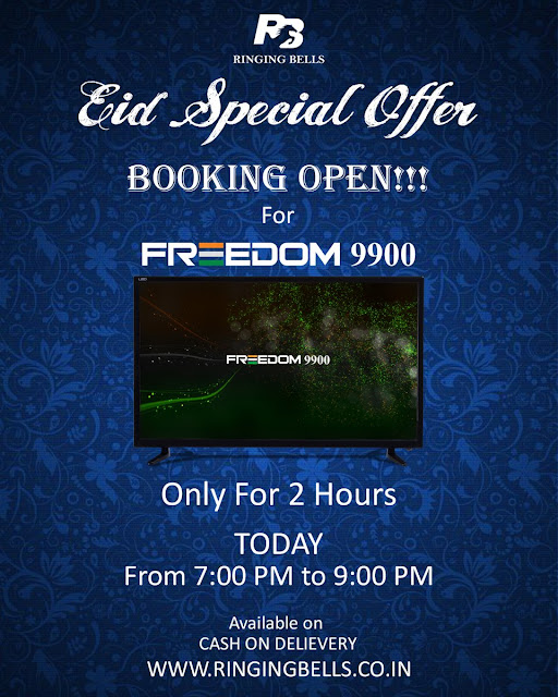 Order Now Freedom 9900 HDTV | Bookings Open Only for 2 Hours