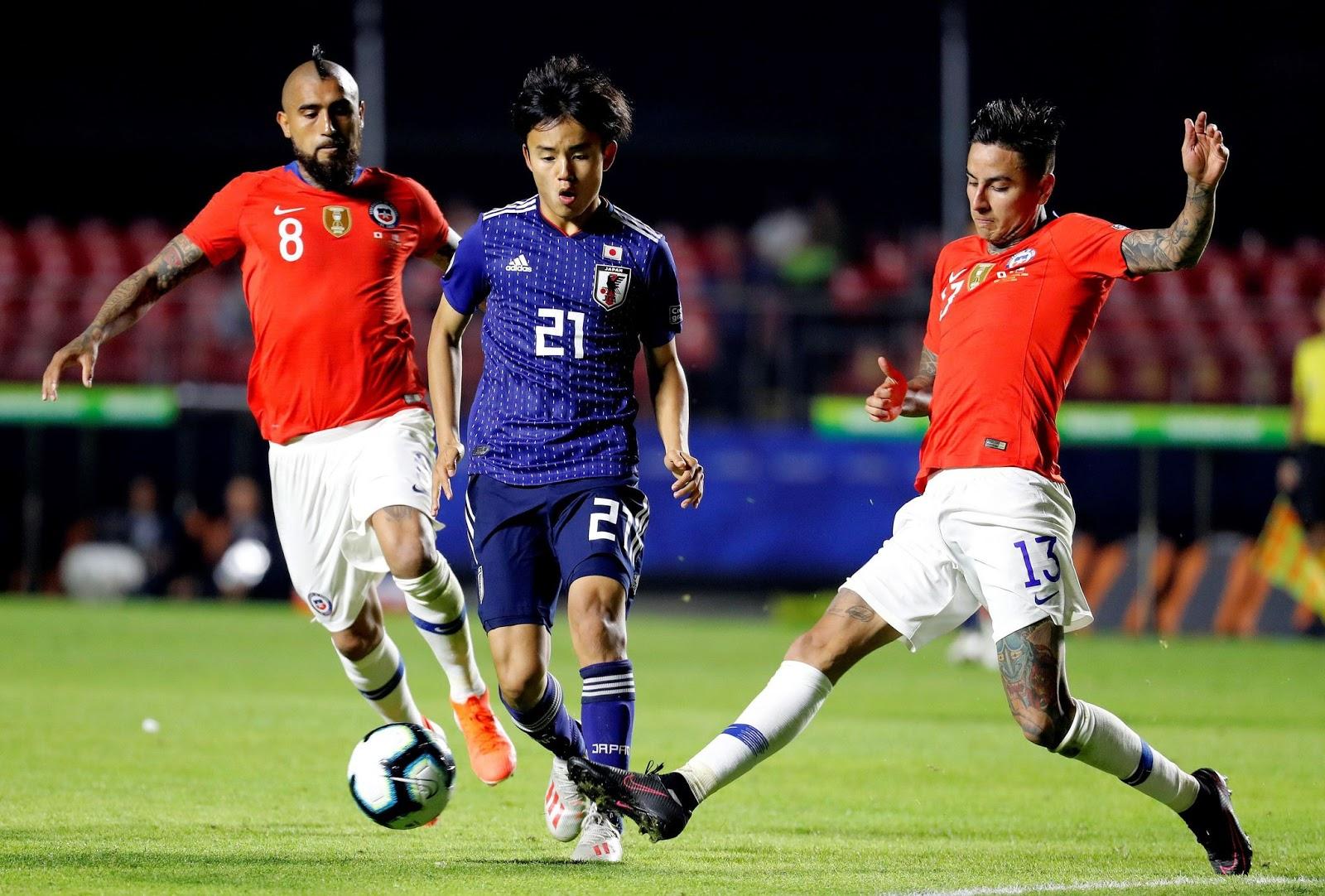 Japón y Chile en Copa América 2019, 17 de junio