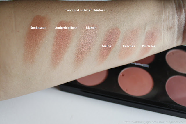 All Things Gold Can Stay: Mac Blushes 101