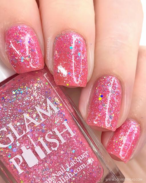 Glam Polish Wicked 25 Sweetpeas
