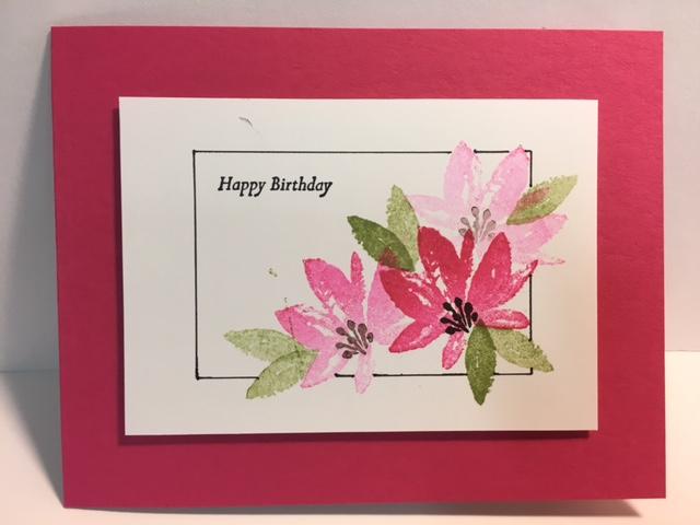My Creative Corner Avant Garden Special Reason Birthday Card