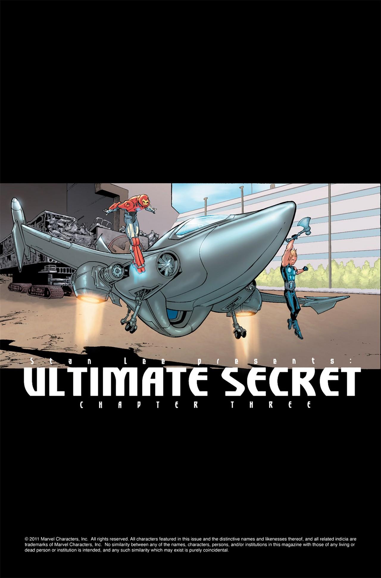 Read online Ultimate Secret comic -  Issue #3 - 2