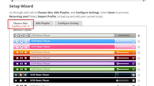 Cara memasang Lagu Autoplay dengan lagu sendiri di blog