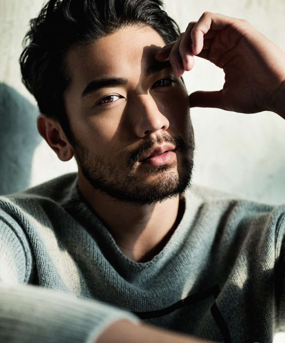 my new plaid pants: Godfrey Gao Eleven Times