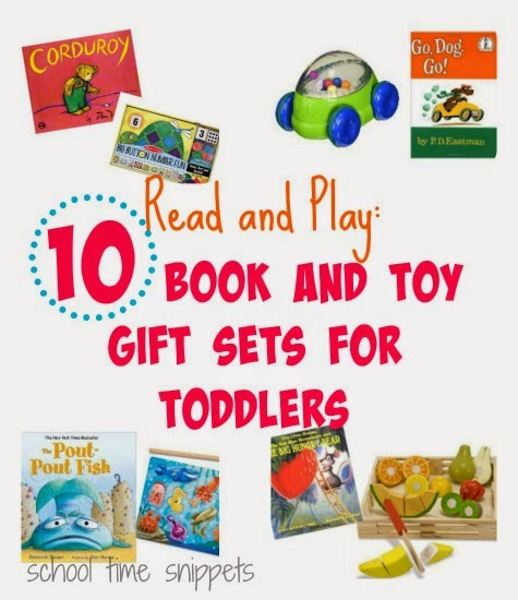 10 Book and Toy Gift Sets for Toddlers