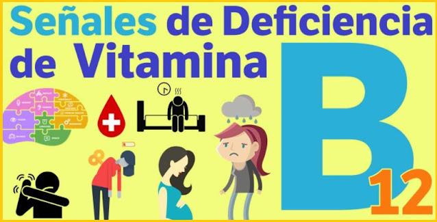 deficiencias por falta de vitamina B12