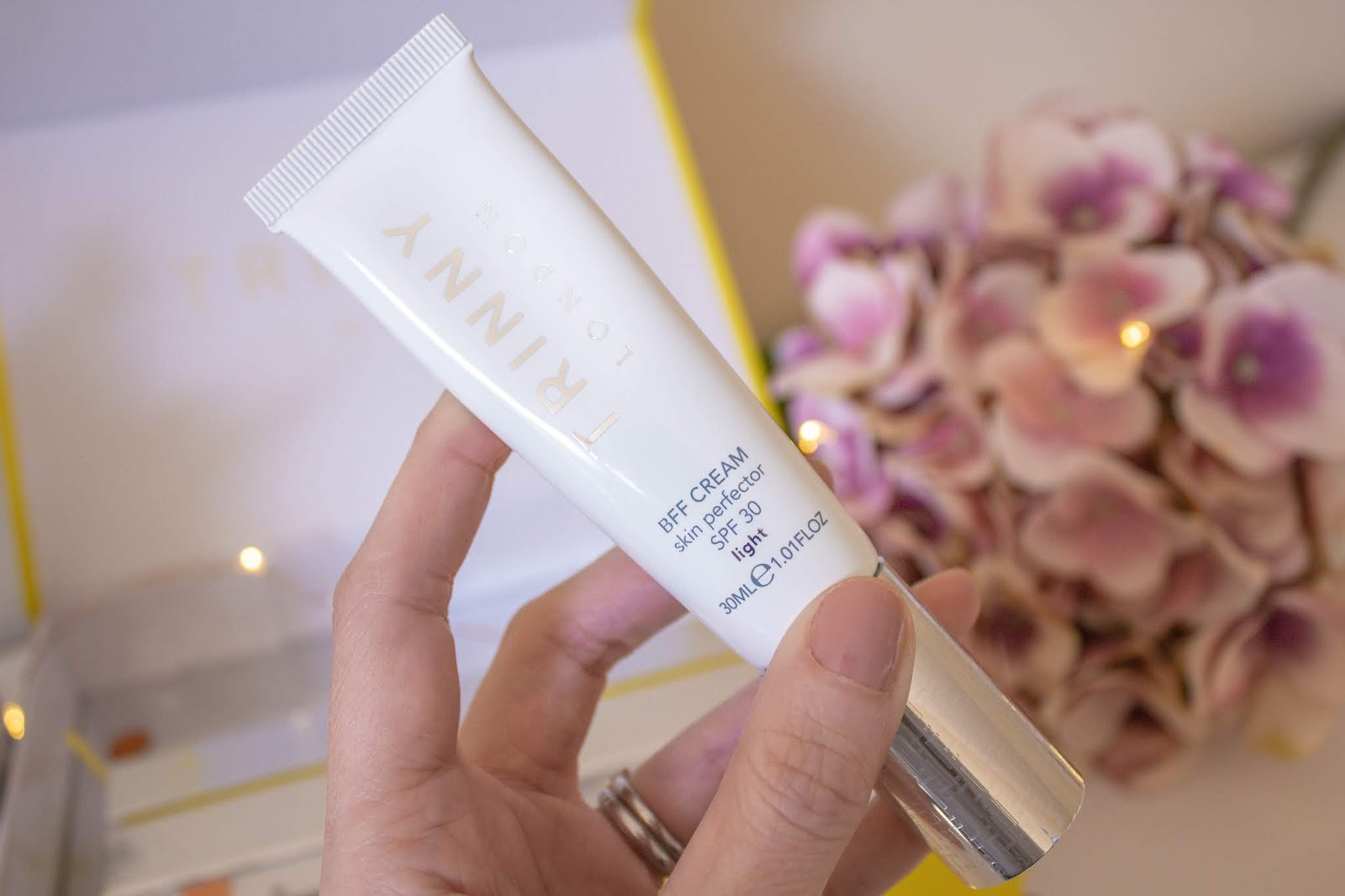 Discovering Trinny London: A Fuss Free Approach To Natural Makeup - BFF Skin Perfector Cream