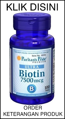 Puritans Pride ULTRA BIOTIN Suplemen Obat Rambut 100% Original USA OK