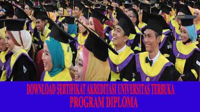 Sertifikat akreditasi ut diploma