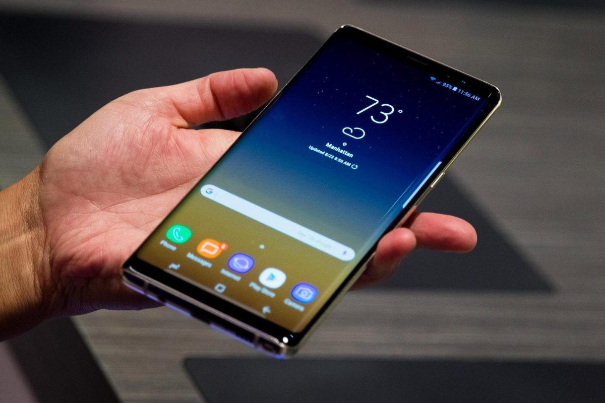 Galaxy Note9 revealed in a leak to be coming with re-positioned fingerprint sensor
