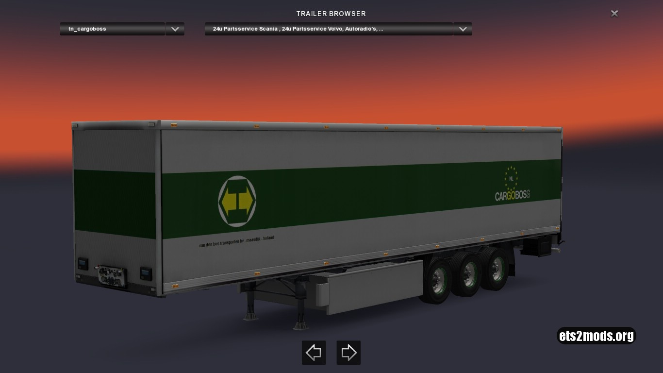 Trailer Cargoboss Holland