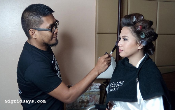Bacolod hair and makeup artists - Alee Benson
