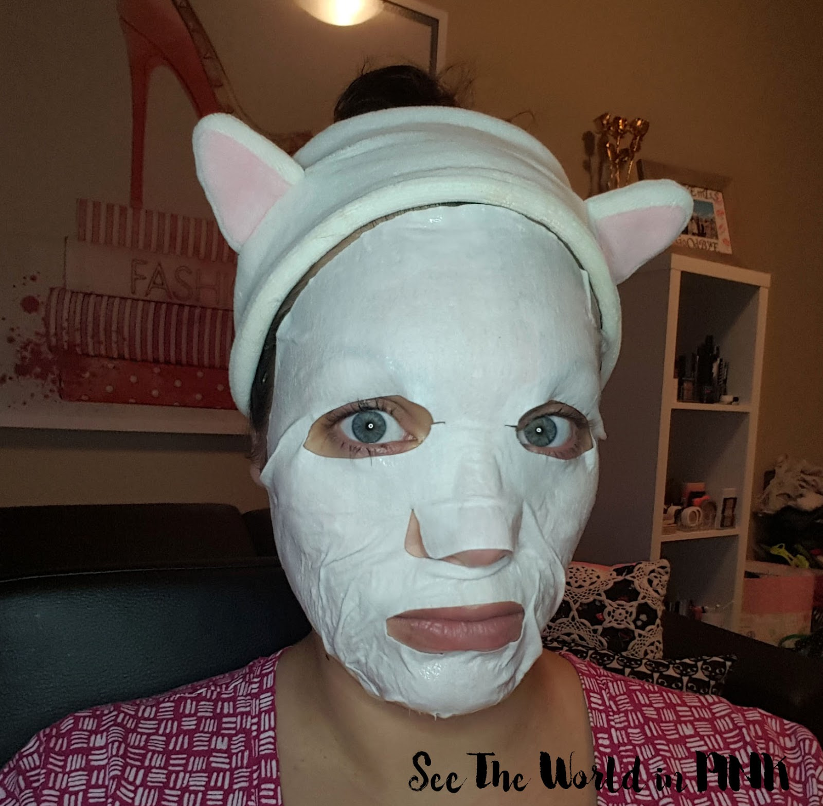Mask Wednesday - THEFACESHOP Intense Firming Mascream Sheet