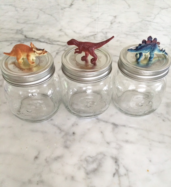 DIY Dinosaur Mason Jars_Party favor_HarlowandThistle 3