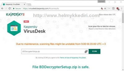 Kaspersky VirusDesk