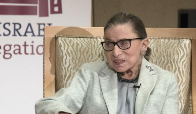 Ginsburg says she has at least 5 more years on Supreme Court