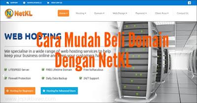Cara Mudah Beli Domain Dengan NetKL