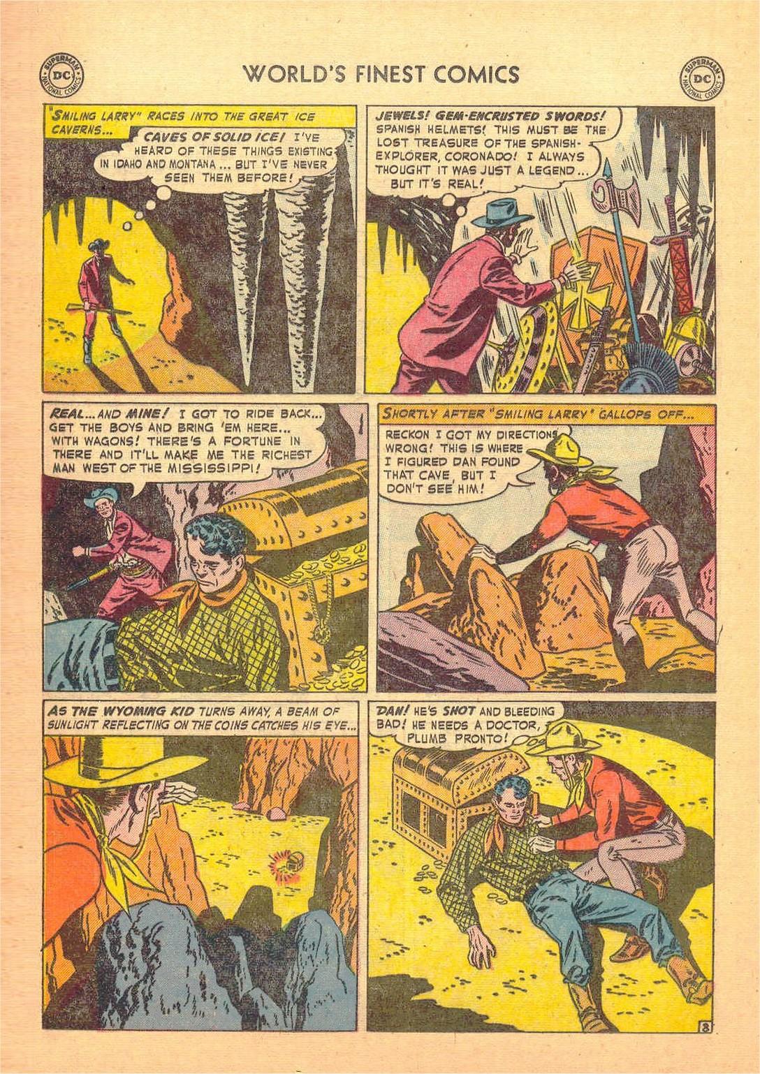 Read online World's Finest Comics comic -  Issue #58 - 36