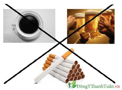 Sử dụng nhiều rượu bia thuốc lá gây bệnh trào ngược dạ dày thực quản