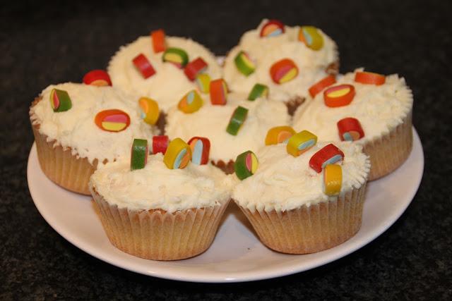 Unsere ersten Cupcakes