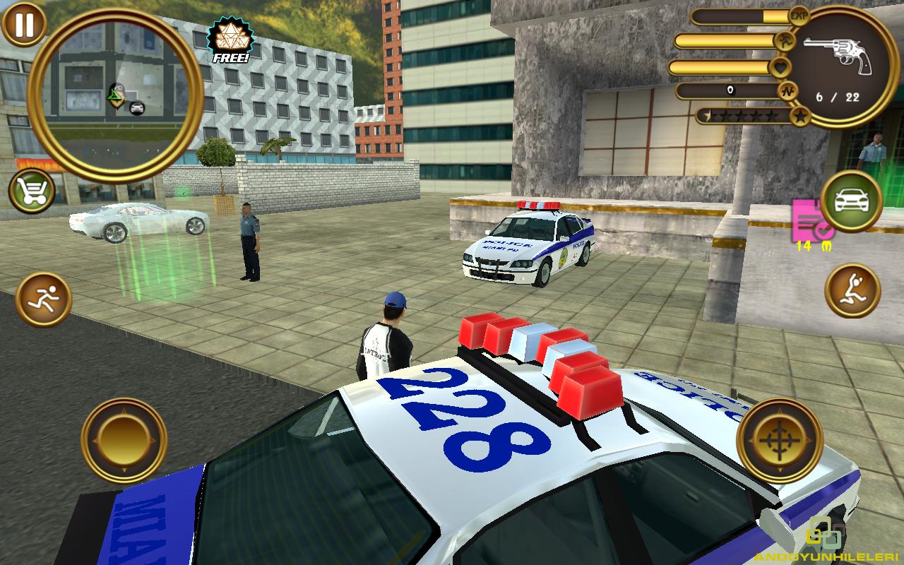 Miami Crime Police v2 Para Hileli