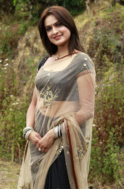 Actress Aditi Agarwal Navel Show Photos
