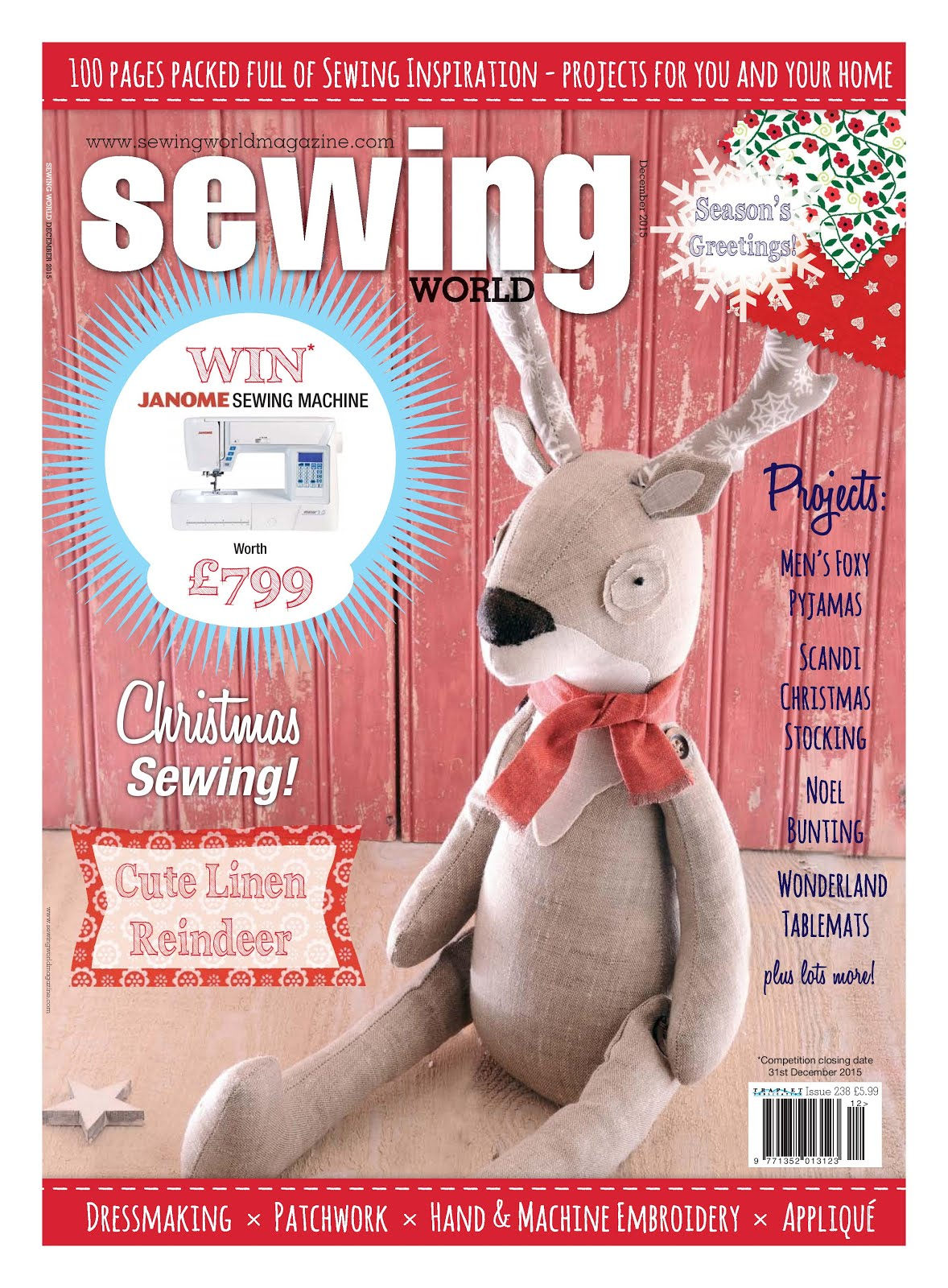 Sewing World December 2015