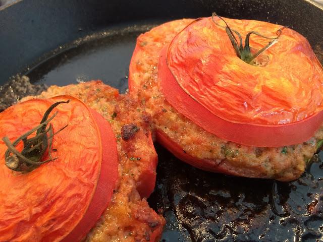 Var dags mat - Chorizofyllda tomater, 4 port