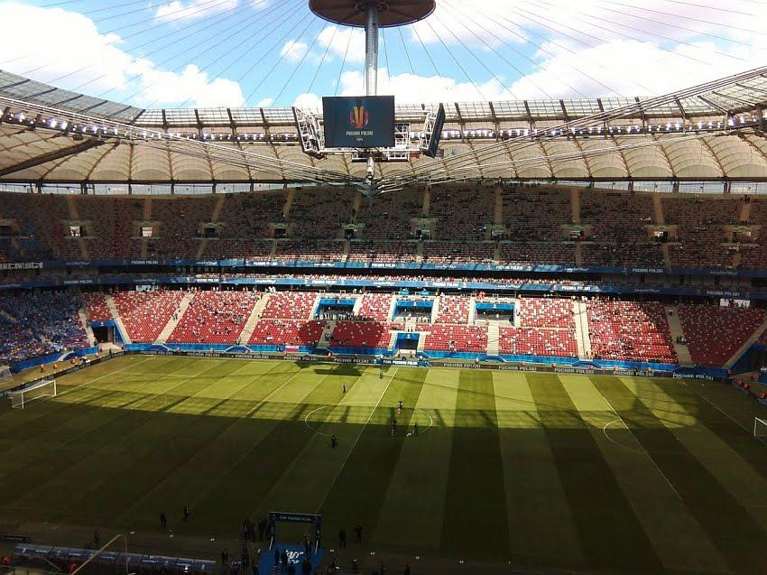 Stadion Narodowy przed finałem Pucharu Polski w 2015 r. - fot. Tomasz Janus / sportnuakowo.pl
