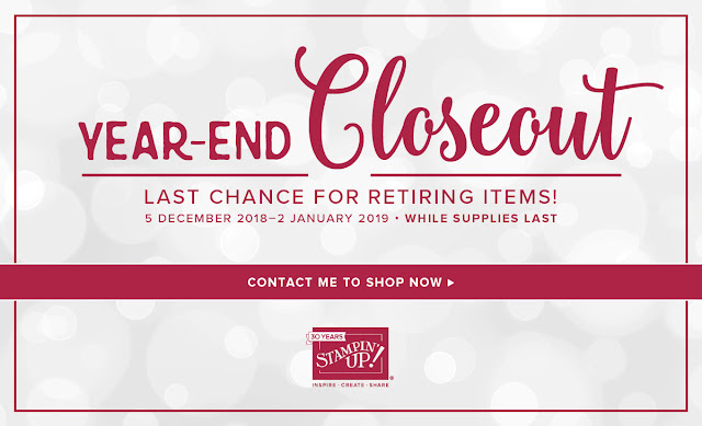 Stampin' Up! Year-End Closeout Promotion from Mitosu Crafts UK Online Shop