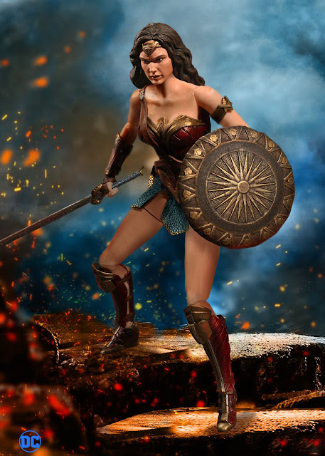 Wonder Woman Costume With Straps