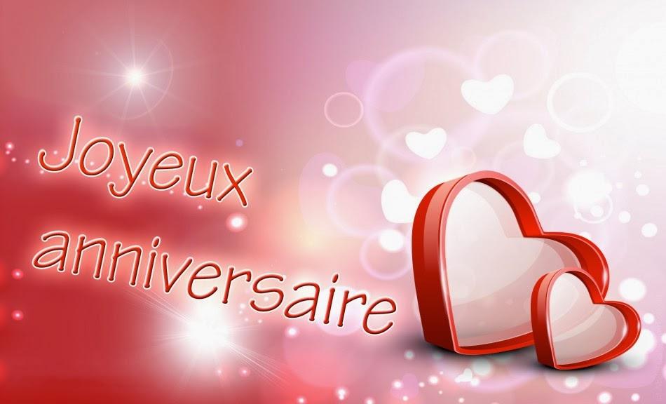 Message et sms anniversaire amour