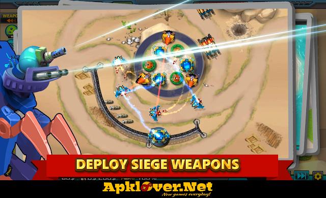 Tower Defense Alien War TD 2 APK MOD