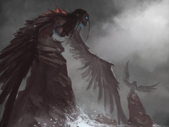 David Franco Campos morkardfc deviantart ilustrações fantasia terror sombrio lovecraft cthulhu