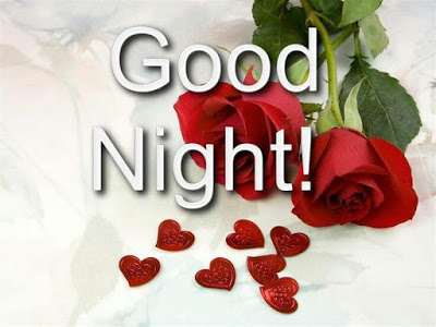 Love, Romantic Good Night Flowers for Couples