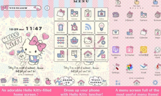 Tema Android Hello Kitty