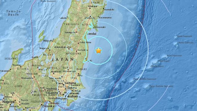 Akankah Ramalan Tsunami terjadi di Olimpiade Tokyo 2020?
