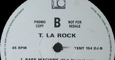 T La Rock Breakin Bells Bass Machine