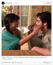 Manish Goplani Mendadak Ditampar Oleh Jigyasa Singh Saat Berada Dibalik Layar Thapki ANTV, Ada Apa Ya ?