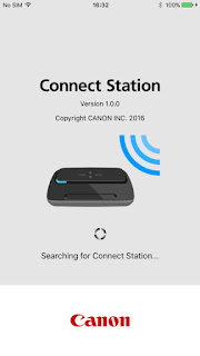 Canon Connect Station app screenshot