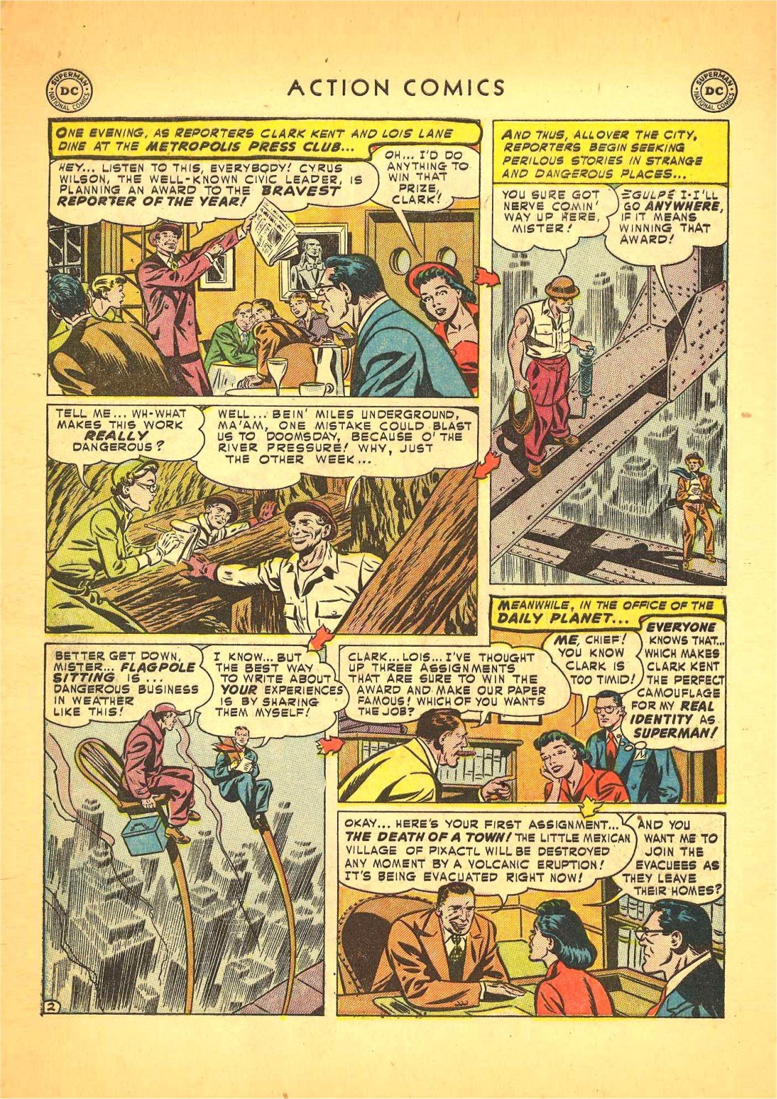 Read online Action Comics (1938) comic -  Issue #166 - 3
