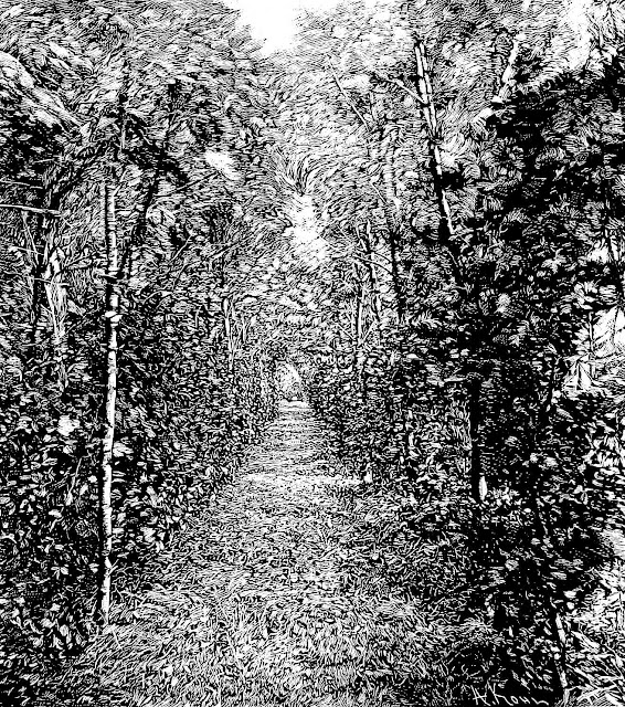green garden tunnel 1895