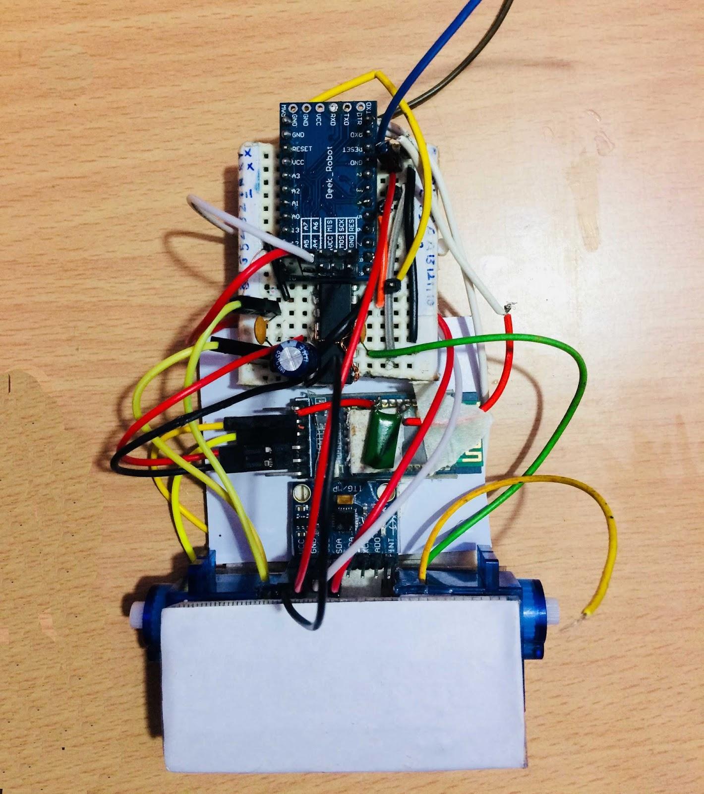 HelloCodings: Self-Balancing Bot without PID