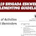 2019 Brigada Eskwela Implementing Guidelines