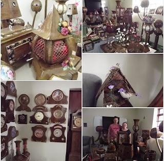 Baraúna no 25º Salão de Artesanato da Paraíba