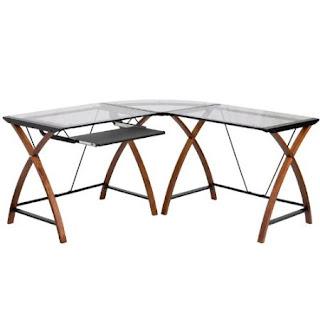 The Best Colection Of Glass Top Desk Glass Top Corner Desk